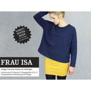"Papierschnittmuster ""Frau Isa"" oversized Sweater Gr 146- 48 - Studio Schnittreif"
