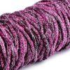 Multicolorkordel 5 mm - lila / rosa