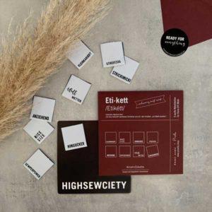 #mehrEtikette - 4.Edition - Highsewsiety