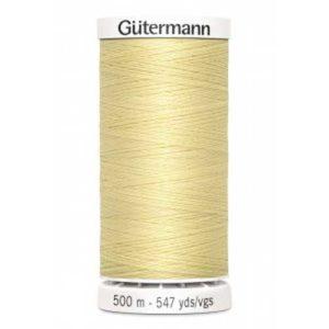 Gütermann Allesnäher 500 m - hellgelb 325