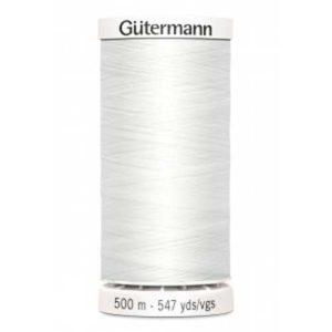 Gütermann Allesnäher 500 m - weiss 800
