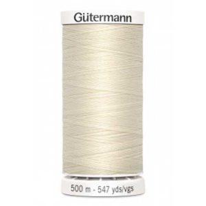 Gütermann Allesnäher 500 m - natur 802