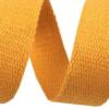 Gurtband 30 mm - senf Baumwolle