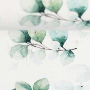 Baumwolljersey Eukalyptus - lindgrün
