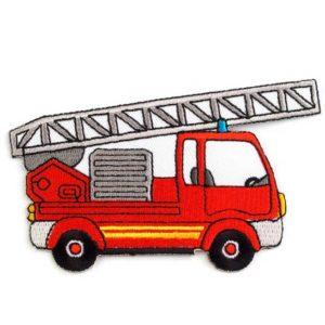 Applikation - aufbügelbar - Feuerwehrauto