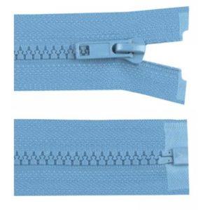 Krampenreissverschluss 5 mm - teilbar - jeans 60 cm