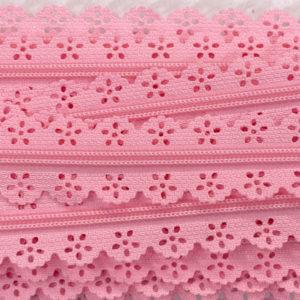 Reissverschluss Spitze 3 mm - rosa