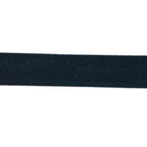 Gewebeband / Köperband 16 mm - schwarz