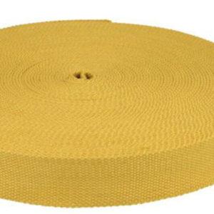 Gurtband 32 mm Baumwolle - senf