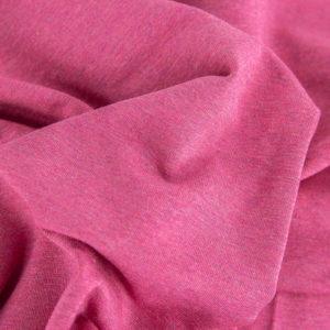 Sweat - uni - pink melange
