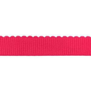 Gummiband 40 mm - Zackenrand - pink