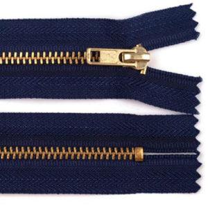 Hosenreissveschluss 4 mm 14 cm - dunkelblau
