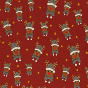"""Sweat angeraut - """"Toronto"""" - Weihnachtselch - rot"""