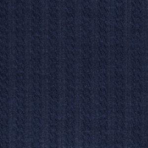 """Zopfstrick Strickstoff - """"Carmen"""" - dunkelblau"""