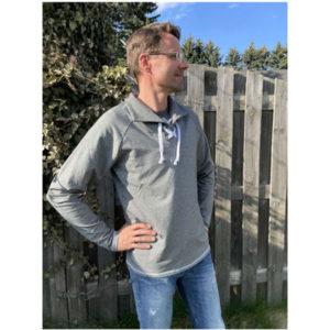 Papierschnittmuster Shirt/Troyer Padina Set Gr XS - XXXXL - Ki-ba-doo