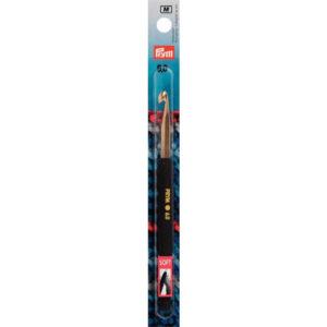 Prym Wollhäkelnadeln Soft-Griff - 14cm - 6 mm